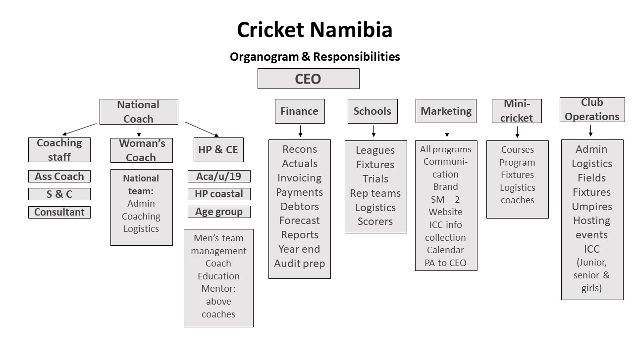 cricket-namibia-organogram